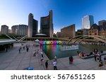 Toronto City Hall And Nathan...