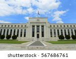 federal reserve building is the ... | Shutterstock . vector #567686761