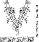 paisley design | Shutterstock .eps vector #56770288