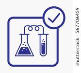 chemical labs icon. flat...   Shutterstock .eps vector #567706429