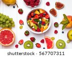 Delicious Fruit Salad And...