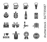 beer icon | Shutterstock .eps vector #567735487