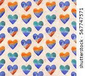seamless pattern with... | Shutterstock . vector #567747571