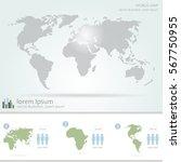 detail infographic vector... | Shutterstock .eps vector #567750955