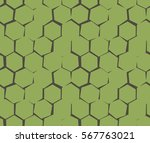 abstract pattern of unequal... | Shutterstock .eps vector #567763021