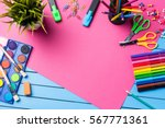 school or art background   Shutterstock . vector #567771361