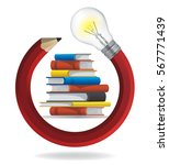 creativity and education...   Shutterstock .eps vector #567771439