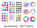 Colorful Watercolor Circles ...