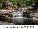 jourama falls with pool  paluma ...   Shutterstock . vector #567791971