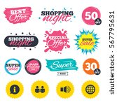 sale shopping banners. special... | Shutterstock .eps vector #567795631