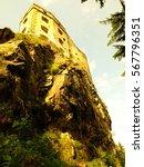likava castle  slovakia | Shutterstock . vector #567796351