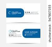 business card vector background | Shutterstock .eps vector #567807355