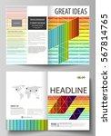 business templates for bi fold... | Shutterstock .eps vector #567814765