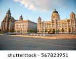 liverpool city centre   three... | Shutterstock . vector #567823951