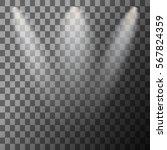 scene illumination. cold light... | Shutterstock .eps vector #567824359