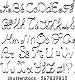 alphabet letters vector   Shutterstock .eps vector #567839815