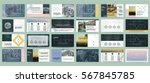 presentation templates. use in... | Shutterstock .eps vector #567845785