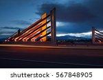 modern bridge | Shutterstock . vector #567848905