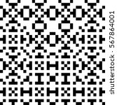vector seamless pattern.... | Shutterstock .eps vector #567864001
