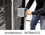male computer engineer...   Shutterstock . vector #567864121