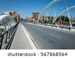 Small photo of Corso dei Mille over Fiume Oreto in Palermo, Cicily, Italy