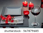 Table Place Setting With...