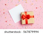 A Gift And Paper For Notes On A ...