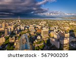 panoramic view of seattle ... | Shutterstock . vector #567900205