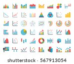 business data market elements... | Shutterstock .eps vector #567913054