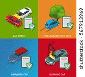 car insurance services. ... | Shutterstock .eps vector #567913969
