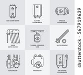 water heater  boiler  electric  ...   Shutterstock .eps vector #567919639