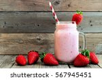 Healthy Strawberry Smoothie In...
