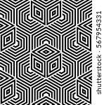 abstract geometric pattern with ... | Shutterstock .eps vector #567954331