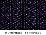 infinite led lights as abstract ... | Shutterstock . vector #567954619