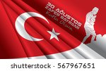 august 30 victory day. victory... | Shutterstock .eps vector #567967651