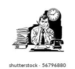 tired of your old job   ... | Shutterstock .eps vector #56796880