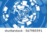 vector background abstract... | Shutterstock .eps vector #567985591