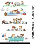 cute personages | Shutterstock . vector #56801404