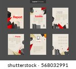 vector layout design template... | Shutterstock .eps vector #568032991