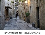 Narrow  Dark Lanes Of The...