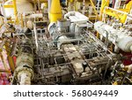 gas booster compressor for... | Shutterstock . vector #568049449