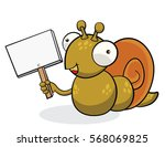 snail cartoon drawings | Shutterstock .eps vector #568069825