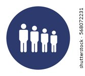 people icon vector flat design... | Shutterstock .eps vector #568072231