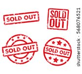 sold out stamp