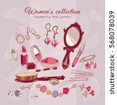 women's collection make up...