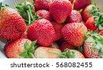 Close Up Of Fresh Strawberry...