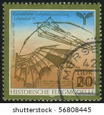 germany  circa 1990  stamp... | Shutterstock . vector #56808445