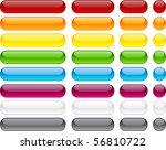long and short pill buttons....   Shutterstock .eps vector #56810722