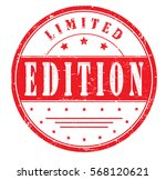 "rubber stamp ""limited edition""  ... 