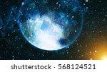 deep space. high definition... | Shutterstock . vector #568124521